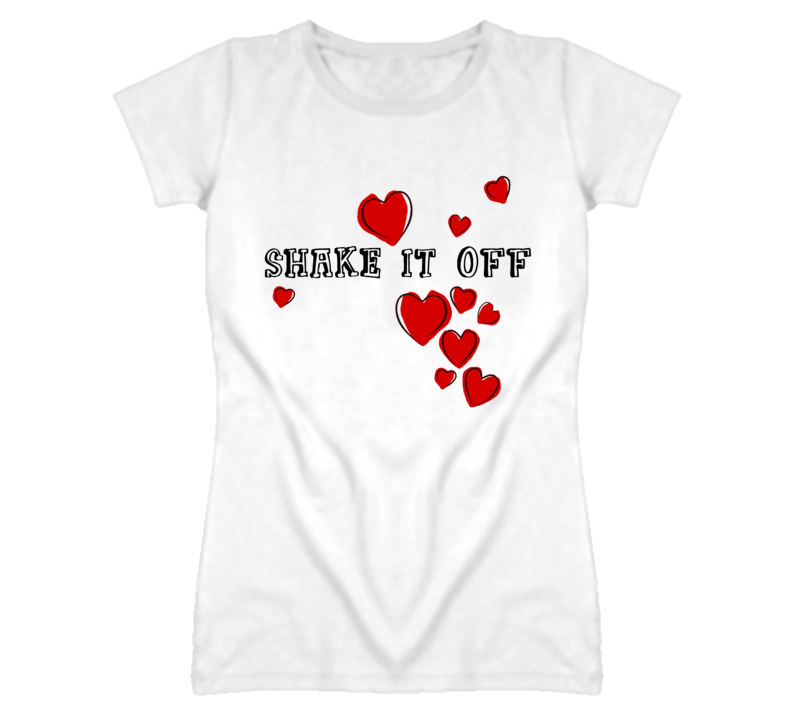 Taylor Swift Shake it Off Heart T-Shirt