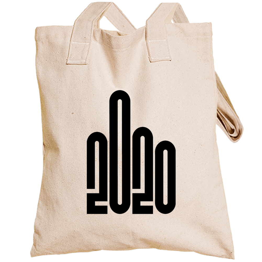If 2020 Had A Logo Giving The Finger Funny Totebag