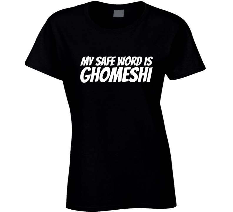 My Safe Word is Ghomeshi Jian Ghomeshi Fired T-Shirt