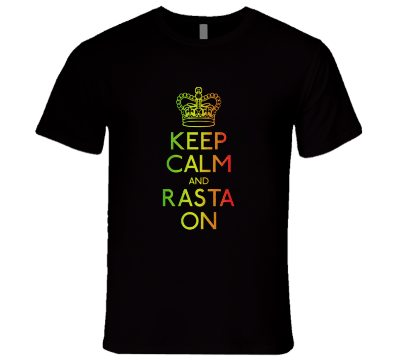 Rasta On T-Shirt