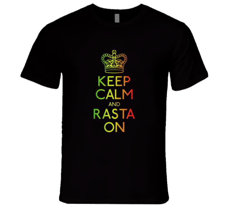 Rasta On T-Shirt