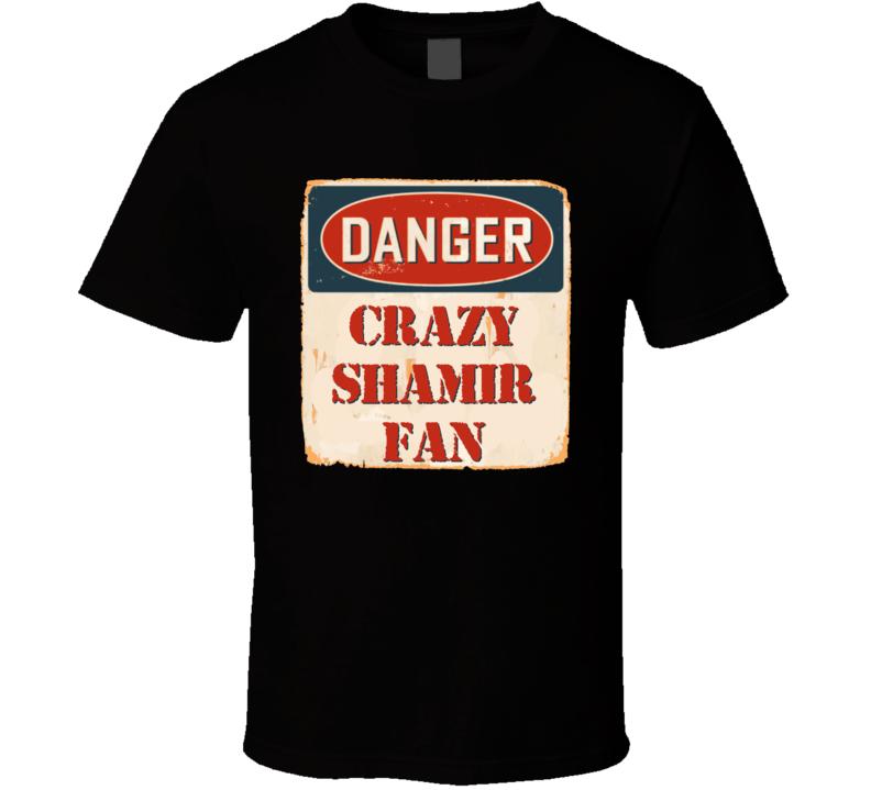 Crazy Shamir Fan Music Artist Vintage Sign T Shirt