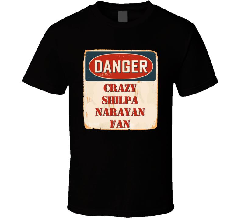 Crazy Shilpa Narayan Fan Music Artist Vintage Sign T Shirt