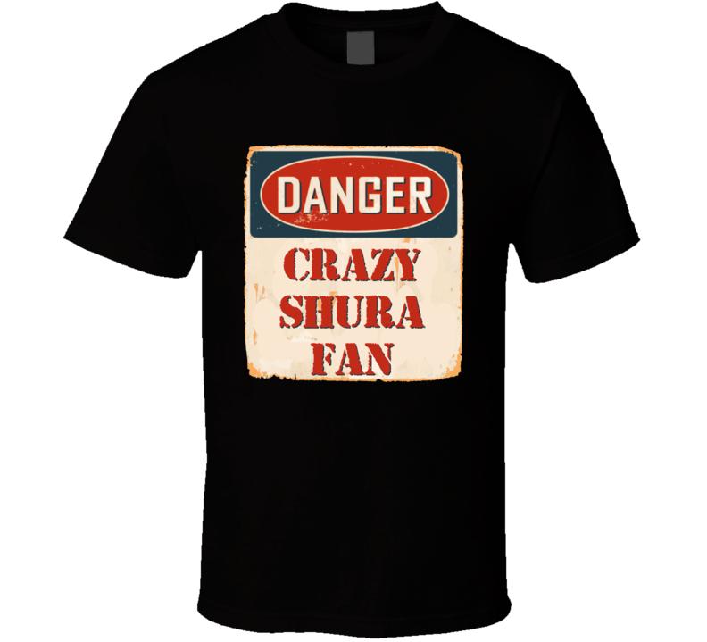 Crazy SHURA Fan Music Artist Vintage Sign T Shirt