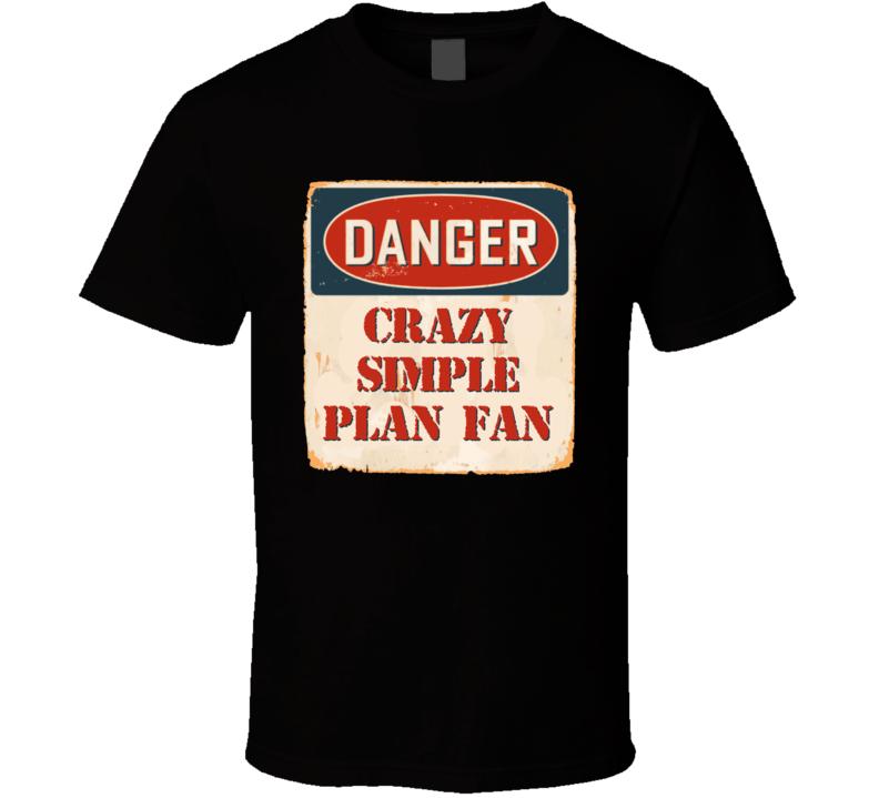 Crazy Simple Plan Fan Music Artist Vintage Sign T Shirt