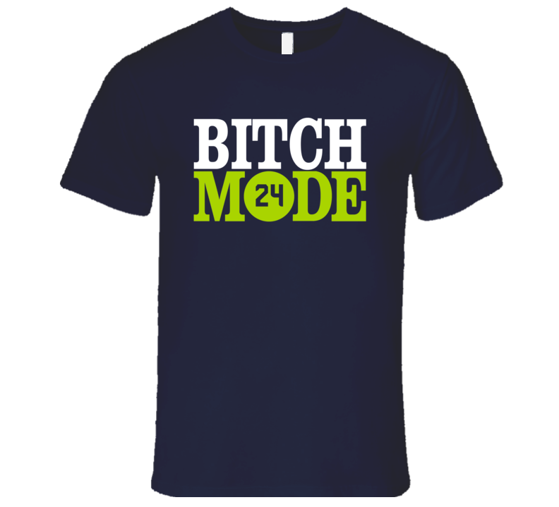 LeGarrette Blount's New England Patriots Bitch Mode Parody T Shirt
