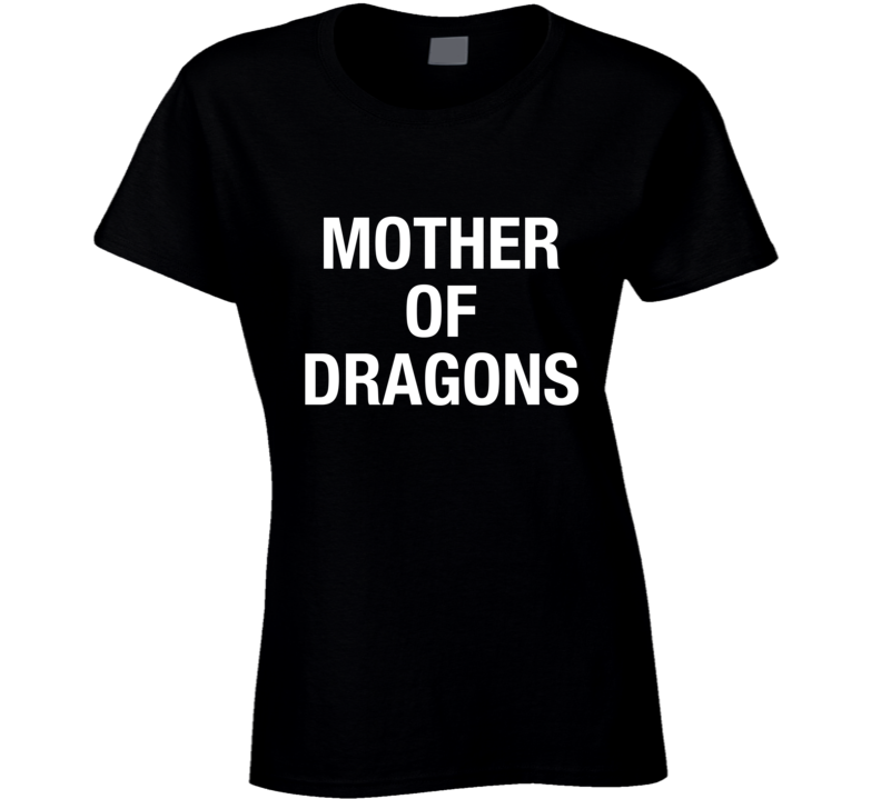 Mother of Dragons Game of Thrones Drew Barrymore White T Shirt