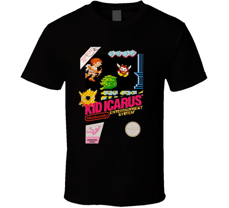 Kid Icarus NES Cover T-Shirt