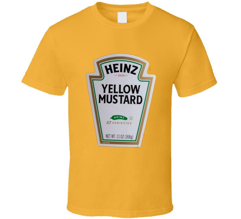 Heinz Yellow Mustard t-shirt