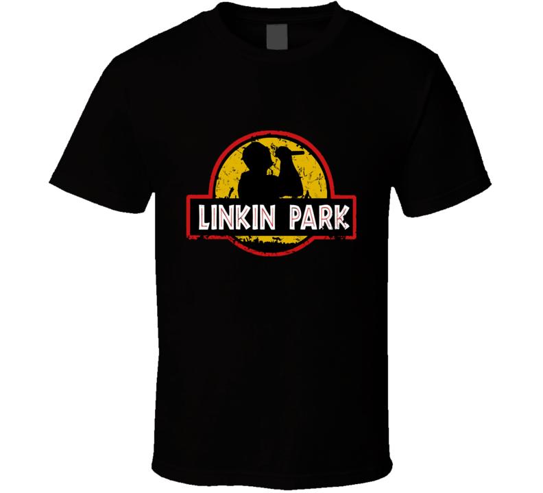 Linkin Park Jurassic Park parody Shirt t-shirt tee