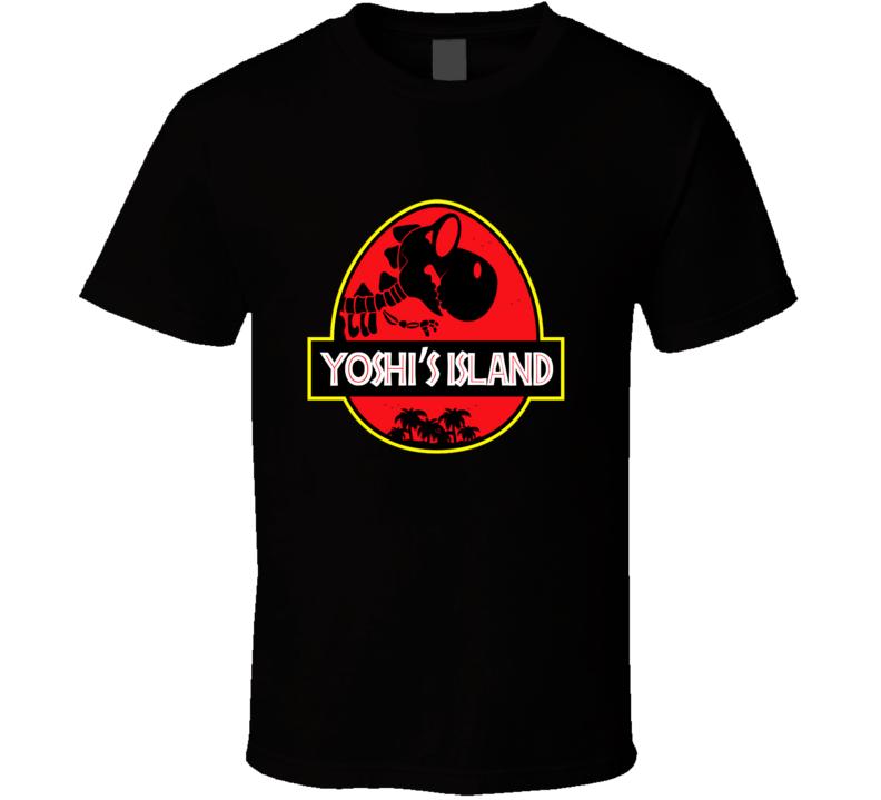 super mario bros yoshi island Jurassic Park Shirt T-Shirt tee