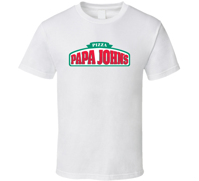 Papa John's Pizza Fan T Shirt