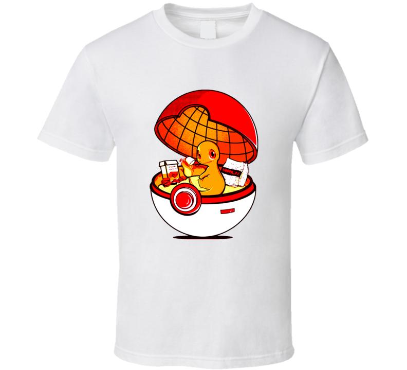 Pokemon Go Charmander Charizard T-Shirt