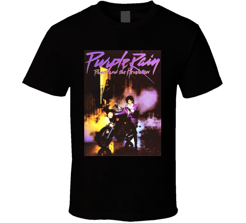 Purple Rain Prince T Shirt