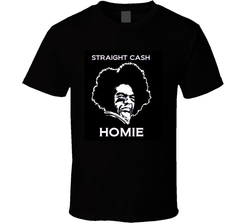 Randy Moss Straight Cash Homie Funny Football T Shirt