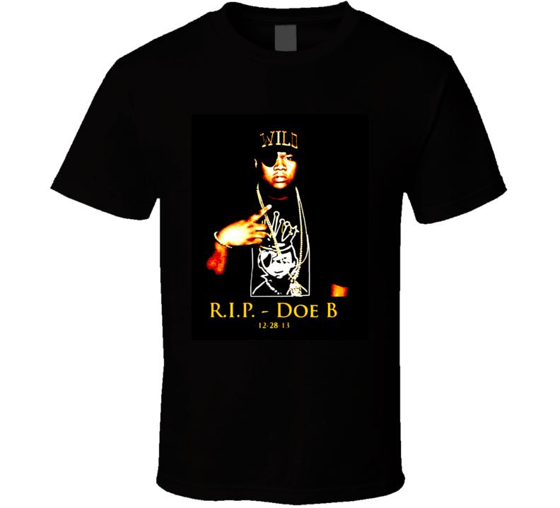 Doe B Hustle Gang Tribute T Shirt