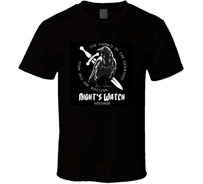 Game of Thrones Nights Watch T Shirt