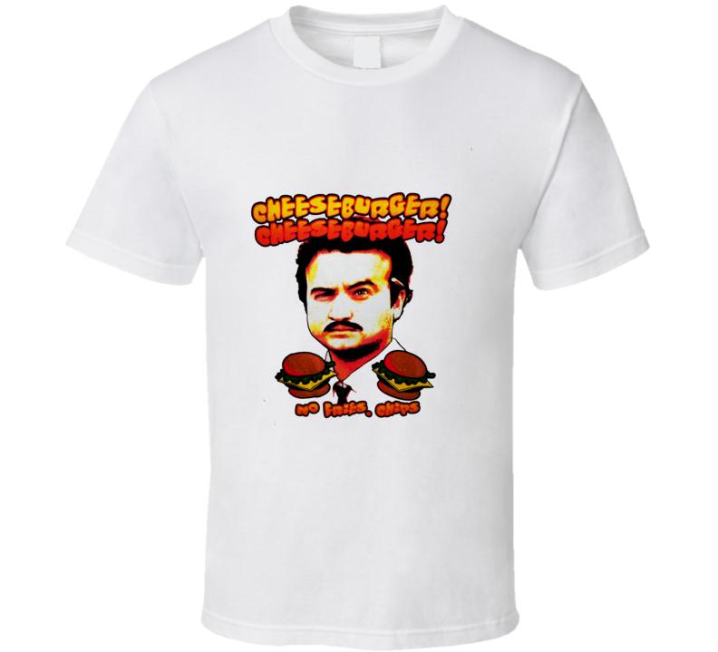 John Belushi SNL Skit Cheeseburger T Shirt