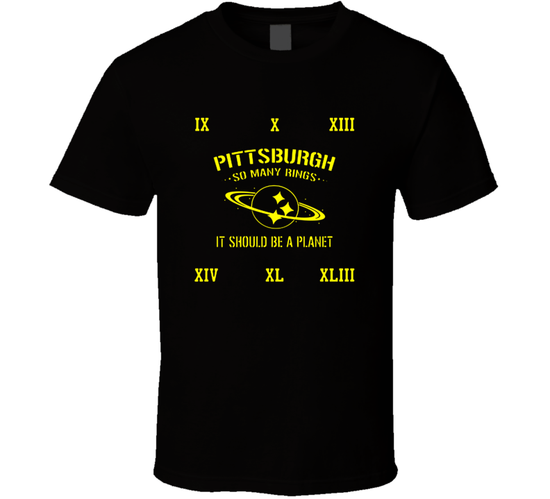 03d62906b pittsburgh so many rings it should be a planet T Shirt