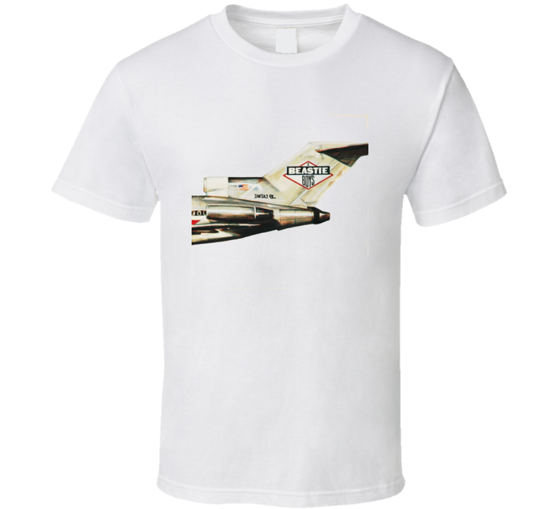 Beastie Boys Licensed To Ill Hip Hop T Shirt