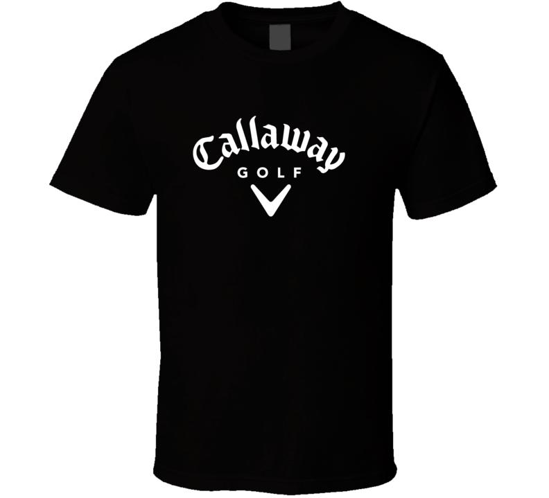 Callaway Golf Staff Professional Black T Shirt