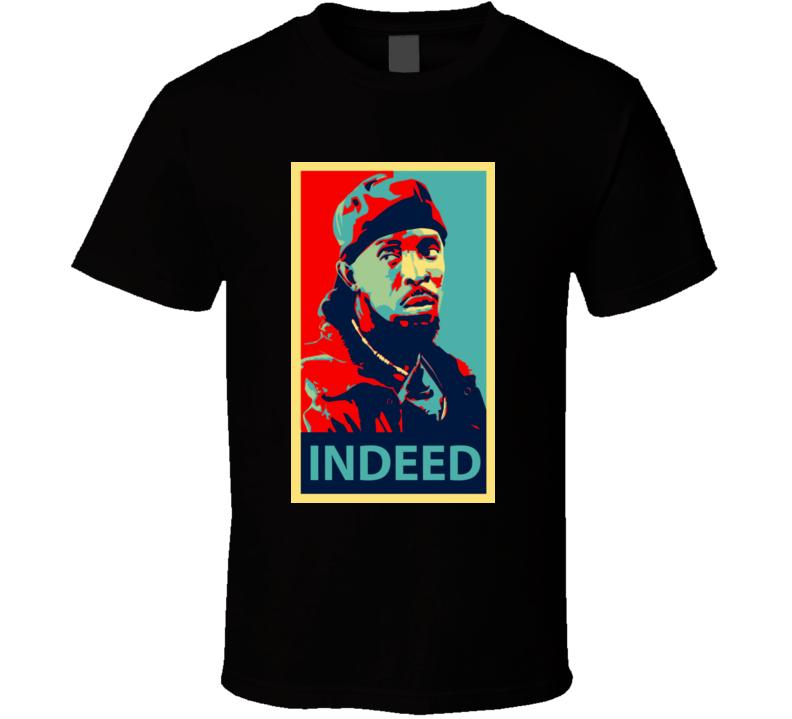 Omar Little Comin Hustle Wire T Shirt