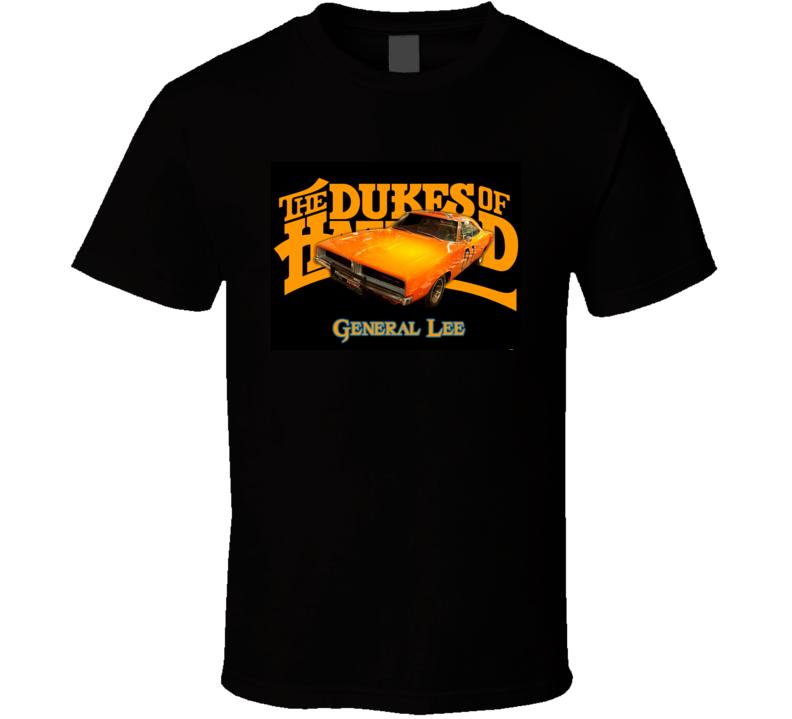 Dukes of Hazzard General Lee Car T Shirt