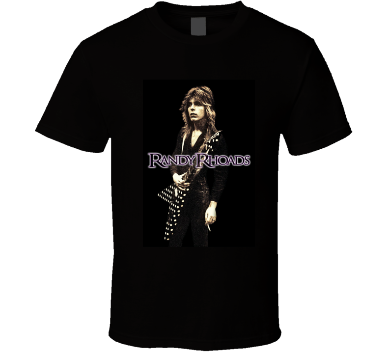 Randy Rhoads Tribute Rock & Roll T Shirt