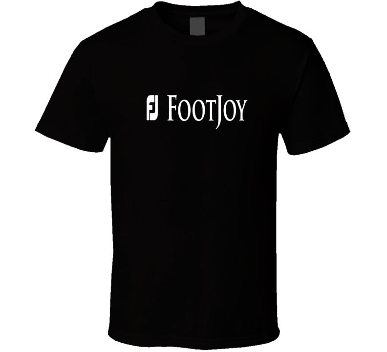 Footjoy Golf Golfing Black T Shirt
