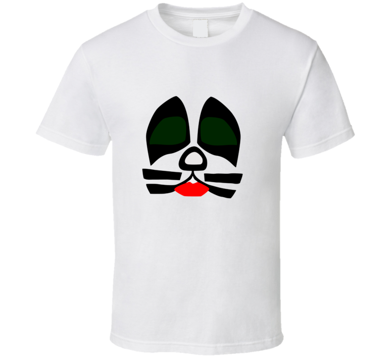 Kiss Catman t-shirt Peter Criss, Eric Singer Rock and roll