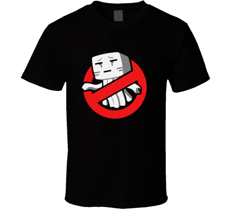 Ghast Busters t-shirt Minecraft Ghost Busters inspired funny t-shirt Gamer swag COOL