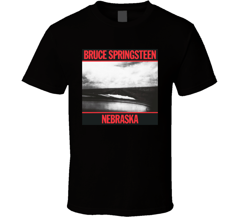 Bruce Springsteen Nebraska Album T Shirt