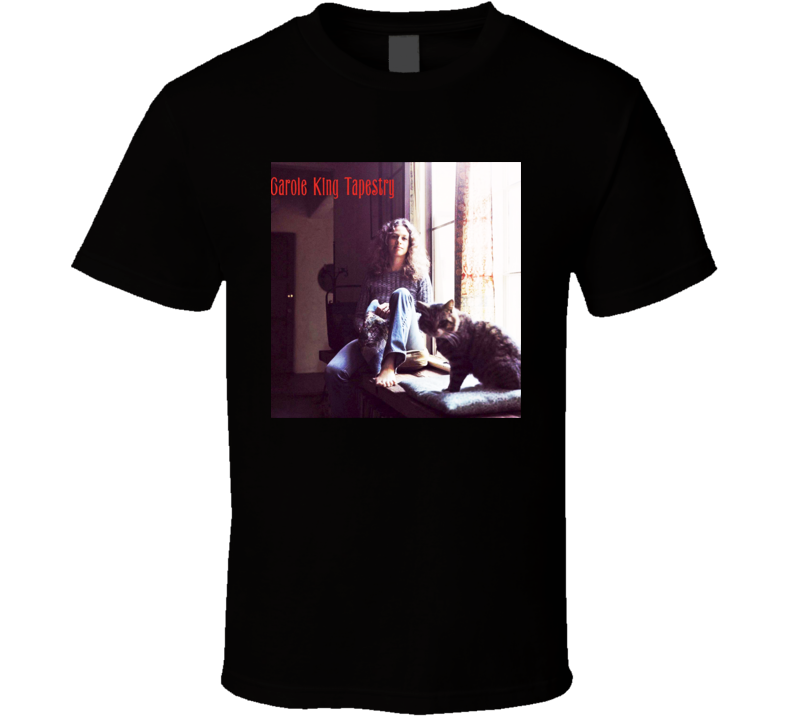 Carole King - Tapestry Album T Shirt
