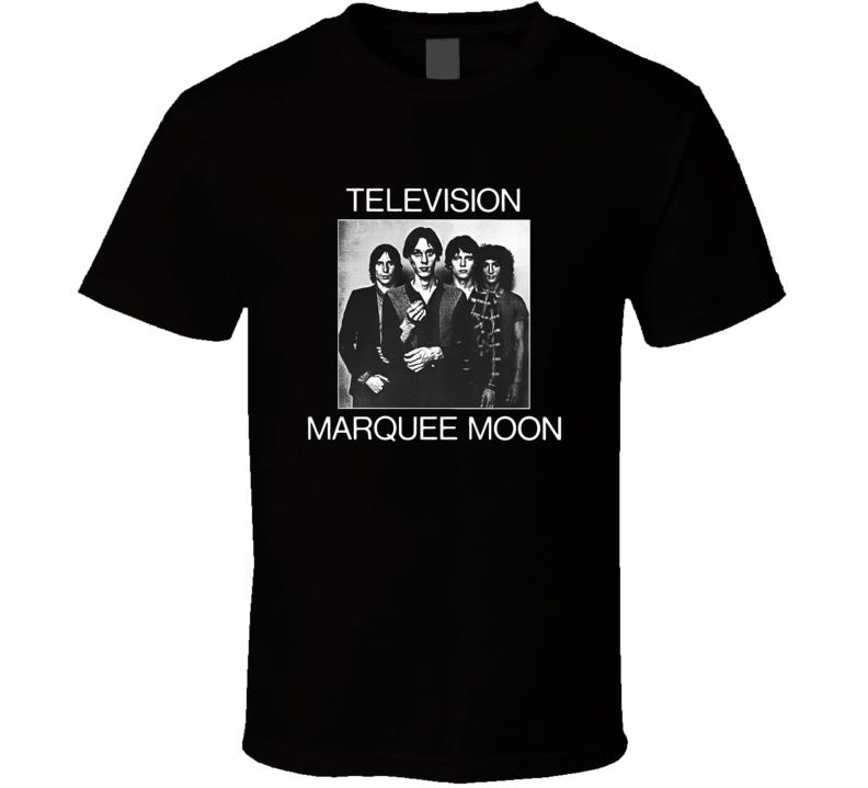 Television Marquee Moon Album T Shirt