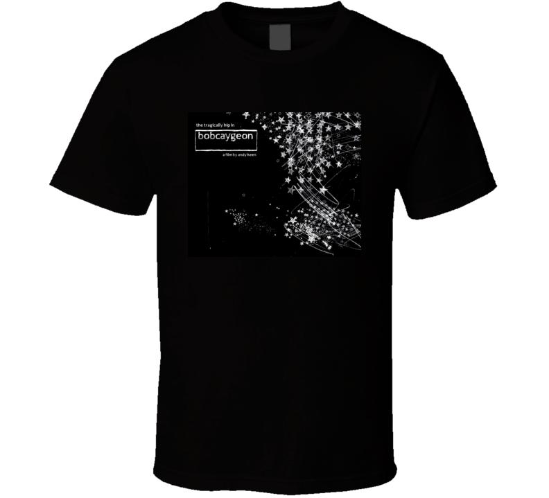 The Tragically Hip Bobcaygeon Album Cover T Shirt