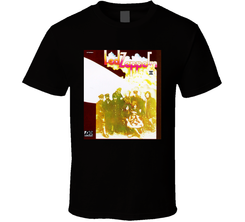 Led Zeppelin - Led Zeppelin II Album T Shirt