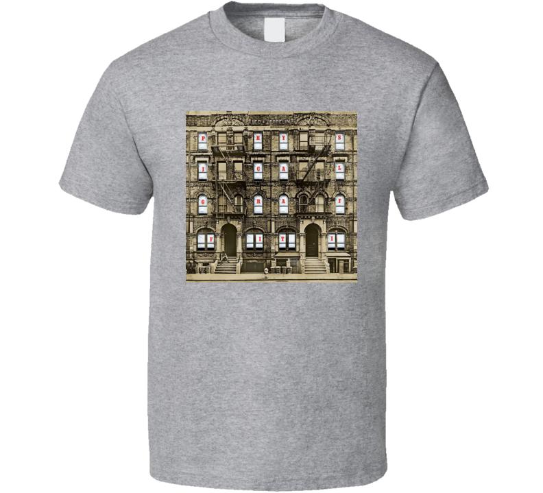 Led Zeppelin - Physical Graffiti Album T Shirt