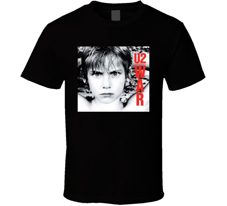 U2 War Album T Shirt