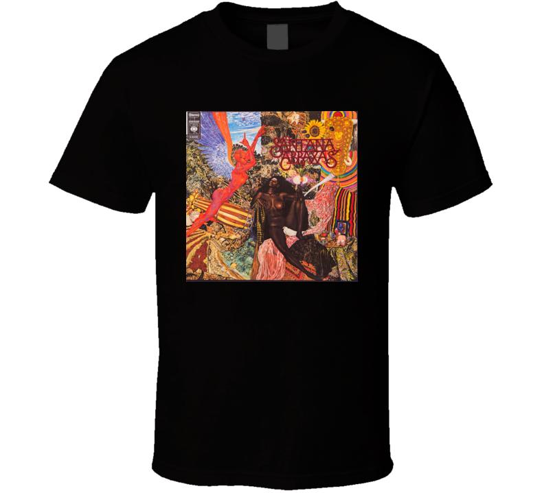Santana Abraxas Album T Shirt