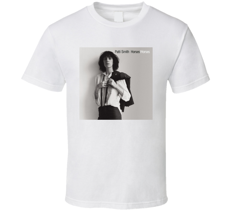 Patti Smith - Horses Album T Shirt