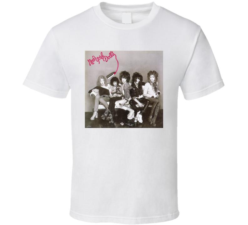 York Dolls New York Dolls Album T Shirt