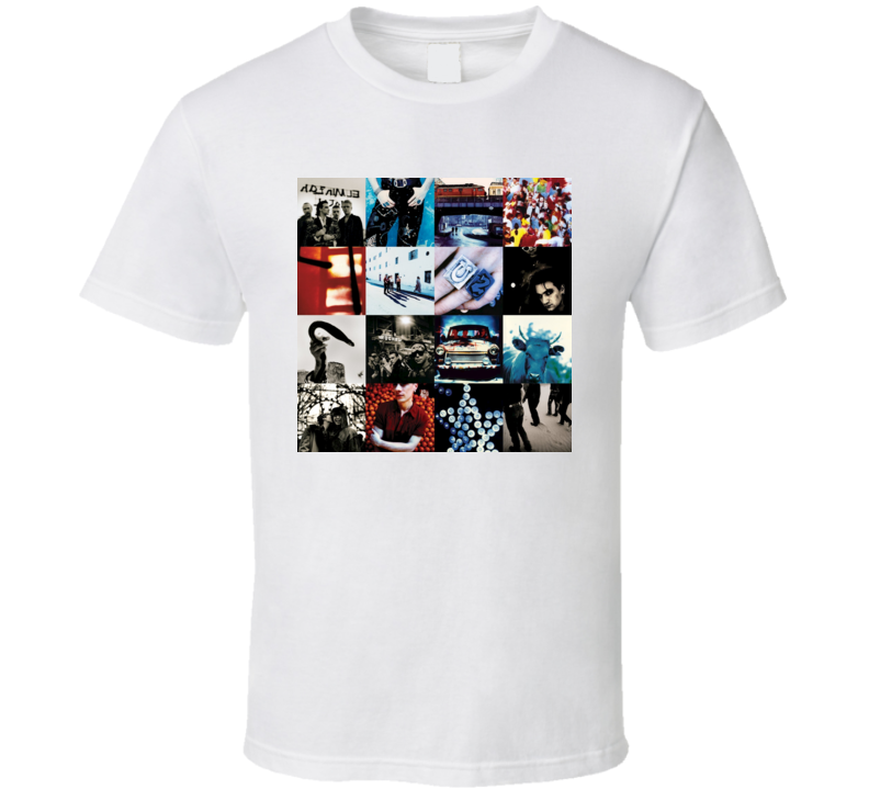 U2 - Achtung Baby Album T Shirt