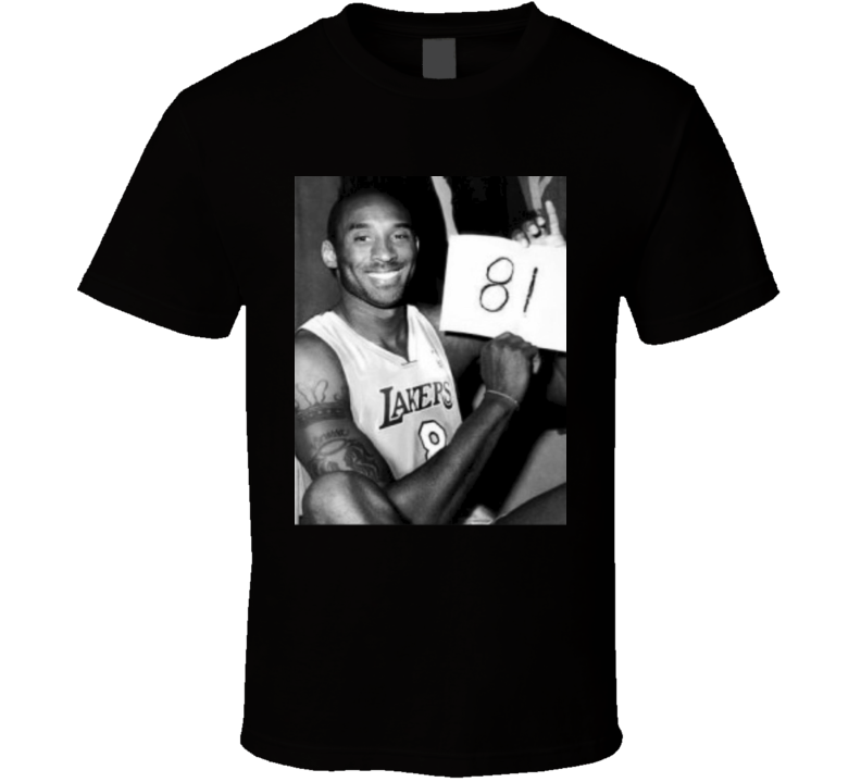 Kobe Bryant 81 Point Game T Shirt