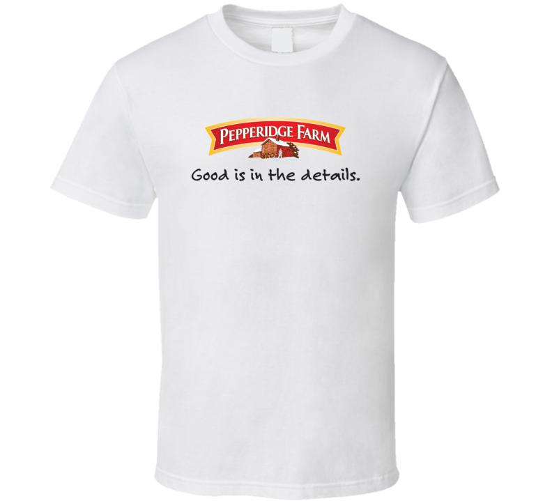 Pepperidge Farm Brand Food Fan T Shirt
