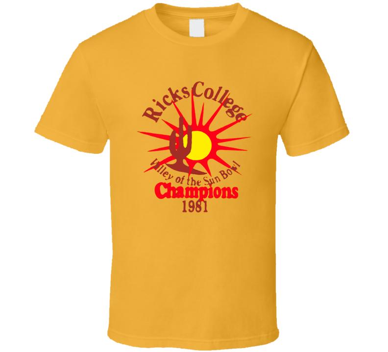 Napoleon Dynamite Rick's College Vintage T Shirt