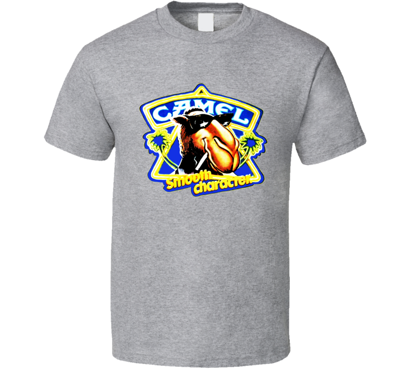 Camel Cigarettes Smooth Character Retro T Shirt