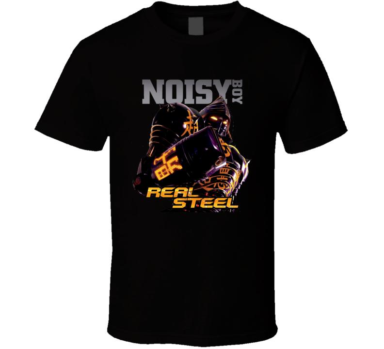 Real Steel Noisy Boy Movie T Shirt