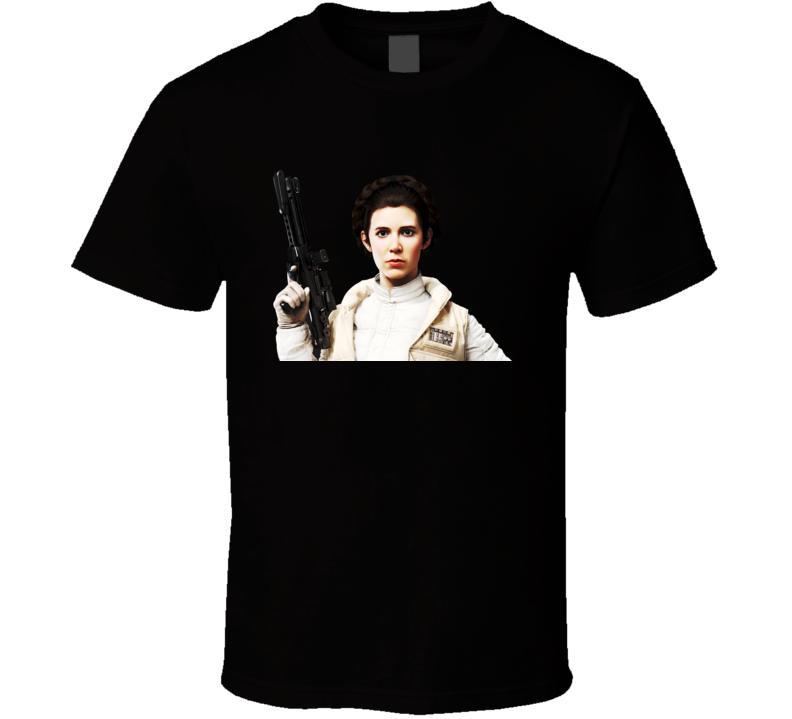 Princess Leia Star Wars leia organa carrie fisher rip t-shirt t shirt tee