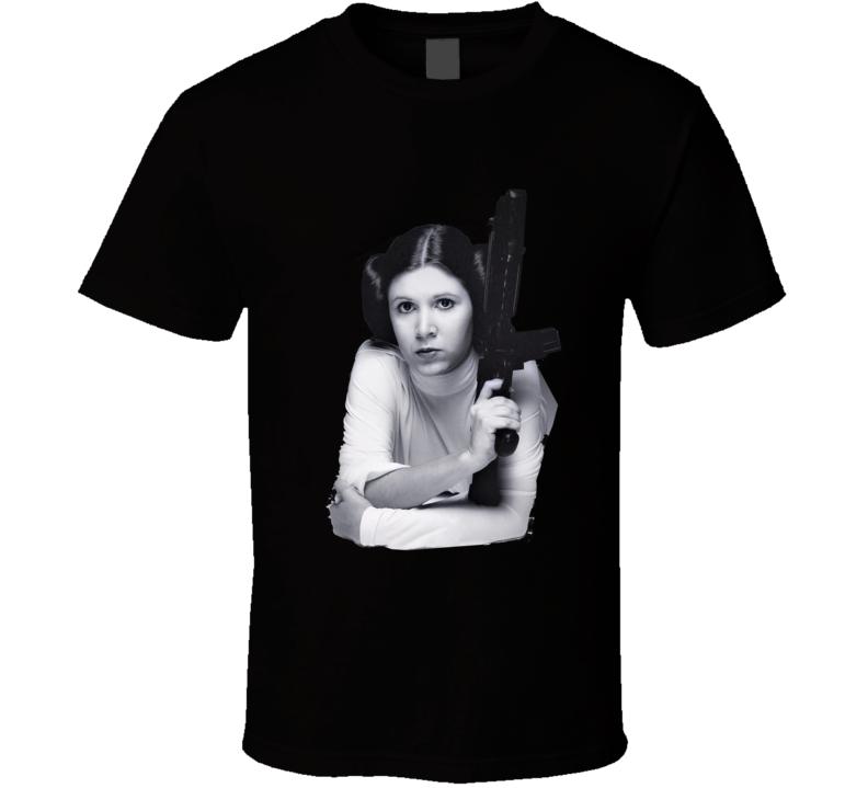 Princess Leia Star Wars leia organa carrie fisher rip t-shirt t shirt tee b