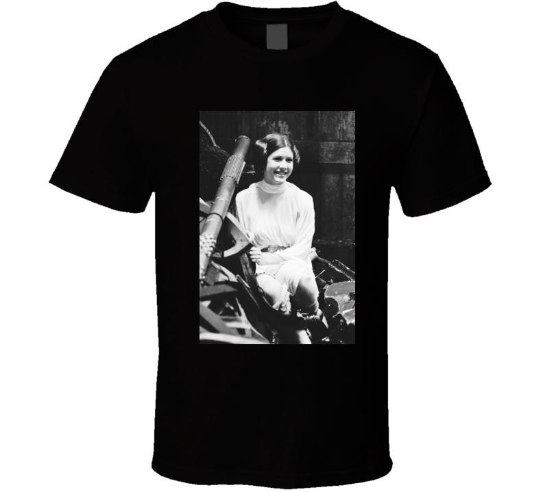 Princess Leia Star Wars t shirt leia organa carrie fisher rip t-shirt t shirt b
